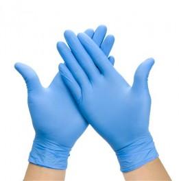 100 gants nitrile taille 9/10