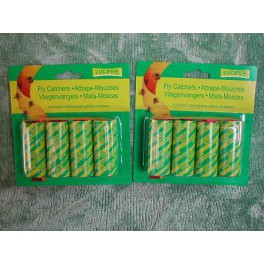 Lot de 24 Rubans attrape Mouches